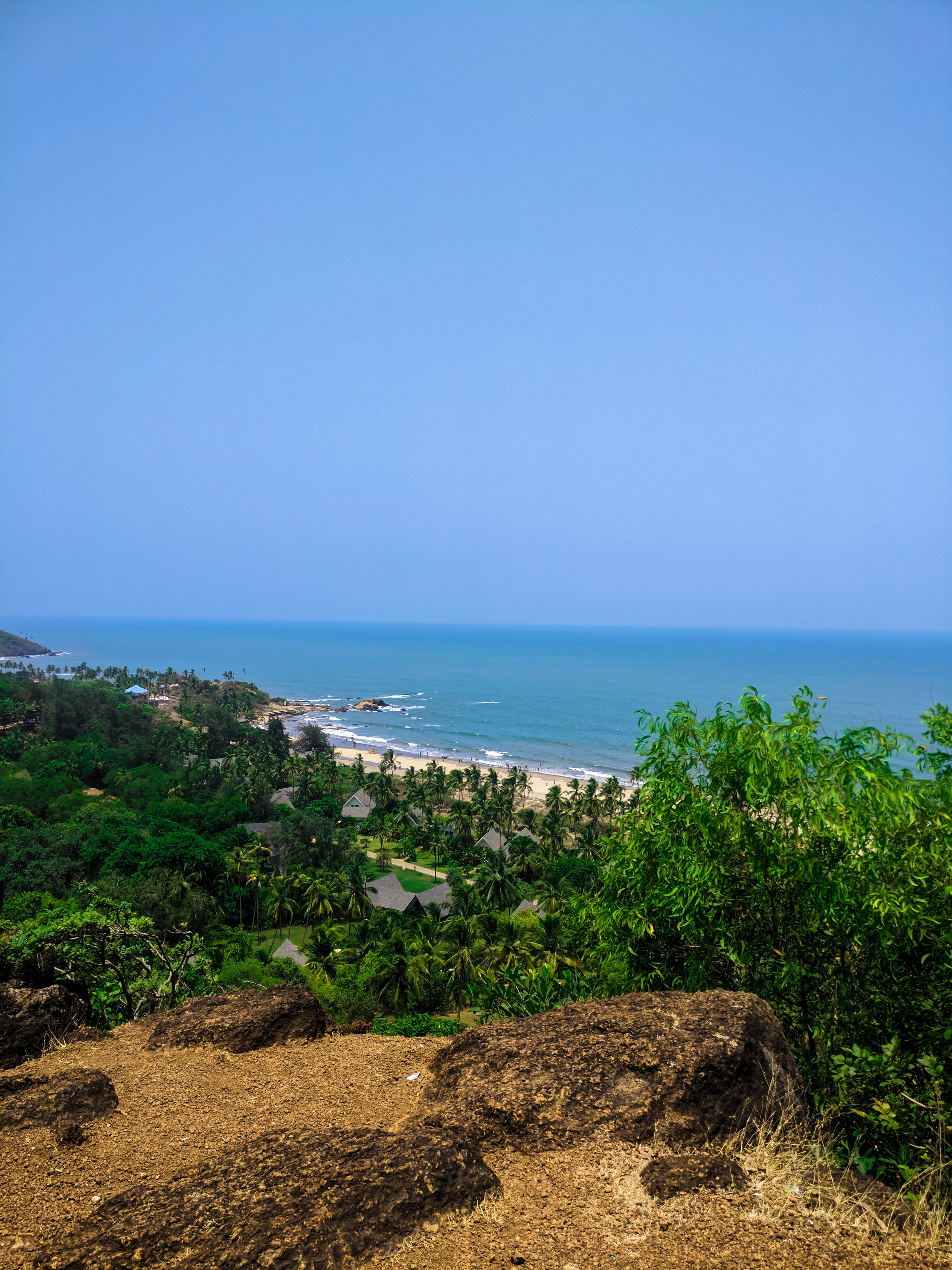 Vagator beach goa, best holiday attraction in goa